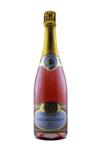 Champagne Brut Rosè Gaillard de Syran