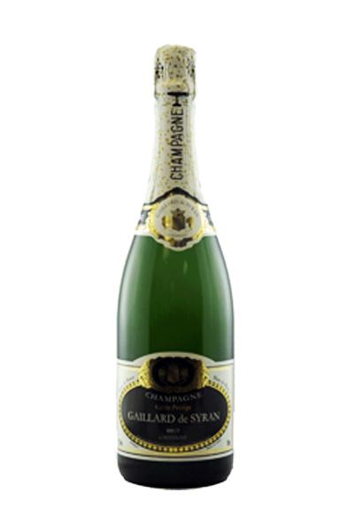 Champagne Blanc de Blancs Gaillard de Syran